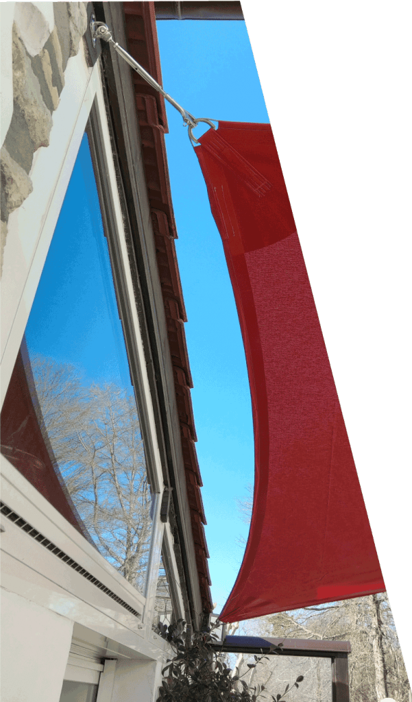 Voiles ombrage fixations