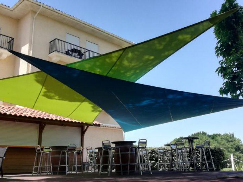 voiles ombrage restaurant